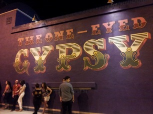 one eyed gypsy. downtown los angeles, california.