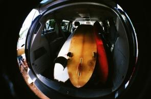 surfboards. lahaina, hawaii.