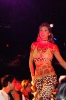 urban woman fashion show. crash mansion. downtown los angeles, california.