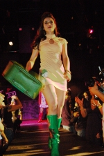 urban woman fashion show. crash mansion. downtown los angeles, california.