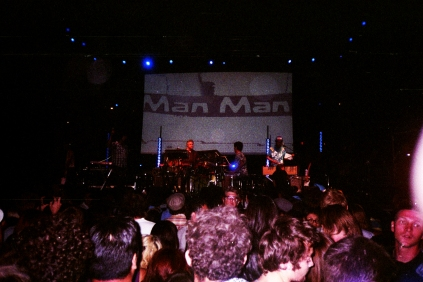 man man performing at FYF music festival. los angeles state historic park. downtown los angeles, california.